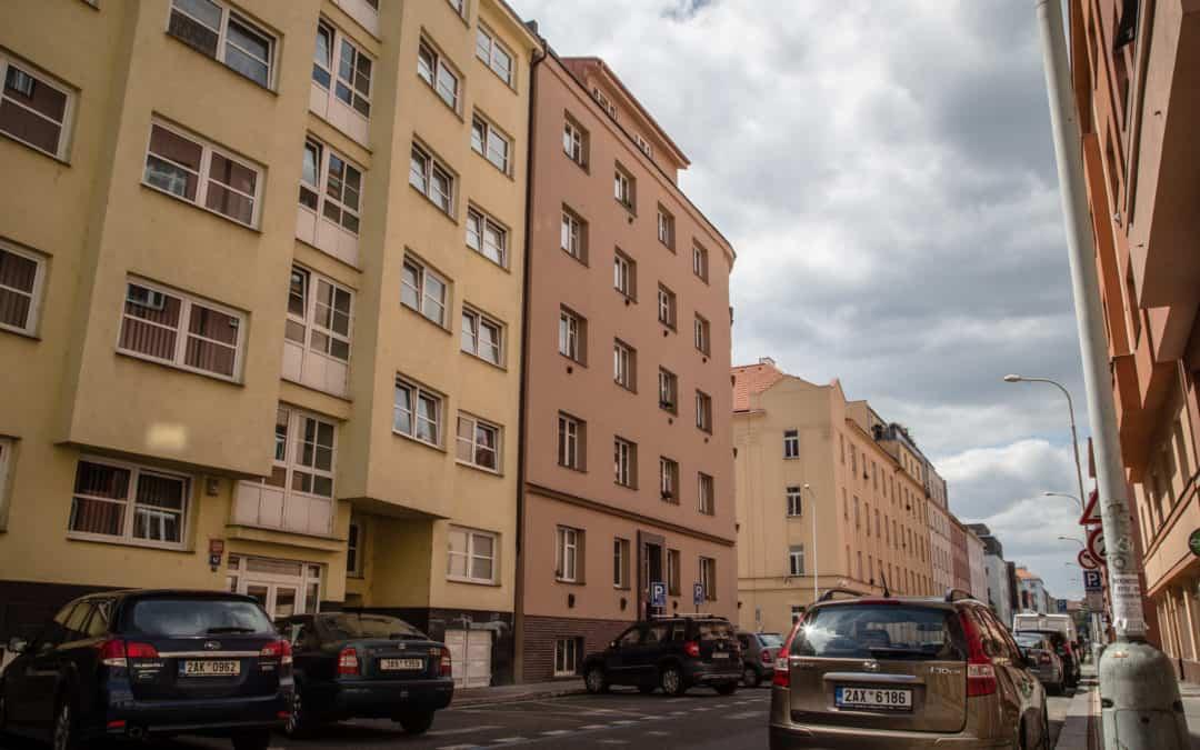 Bytový dům Přístavní, Praha