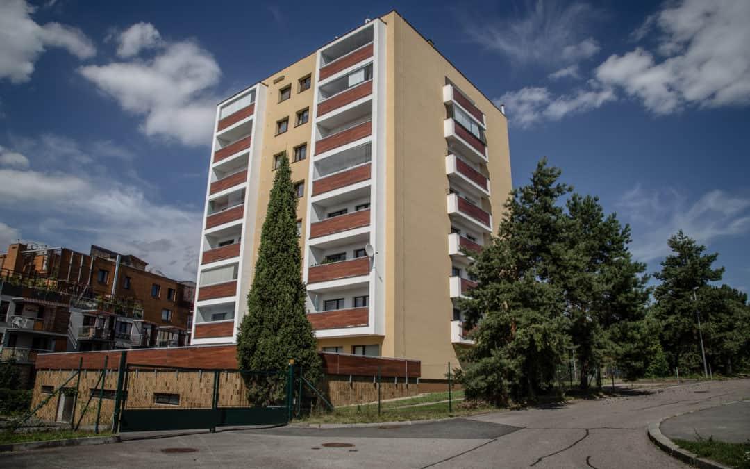 Bytový dům Hudečkova, Praha