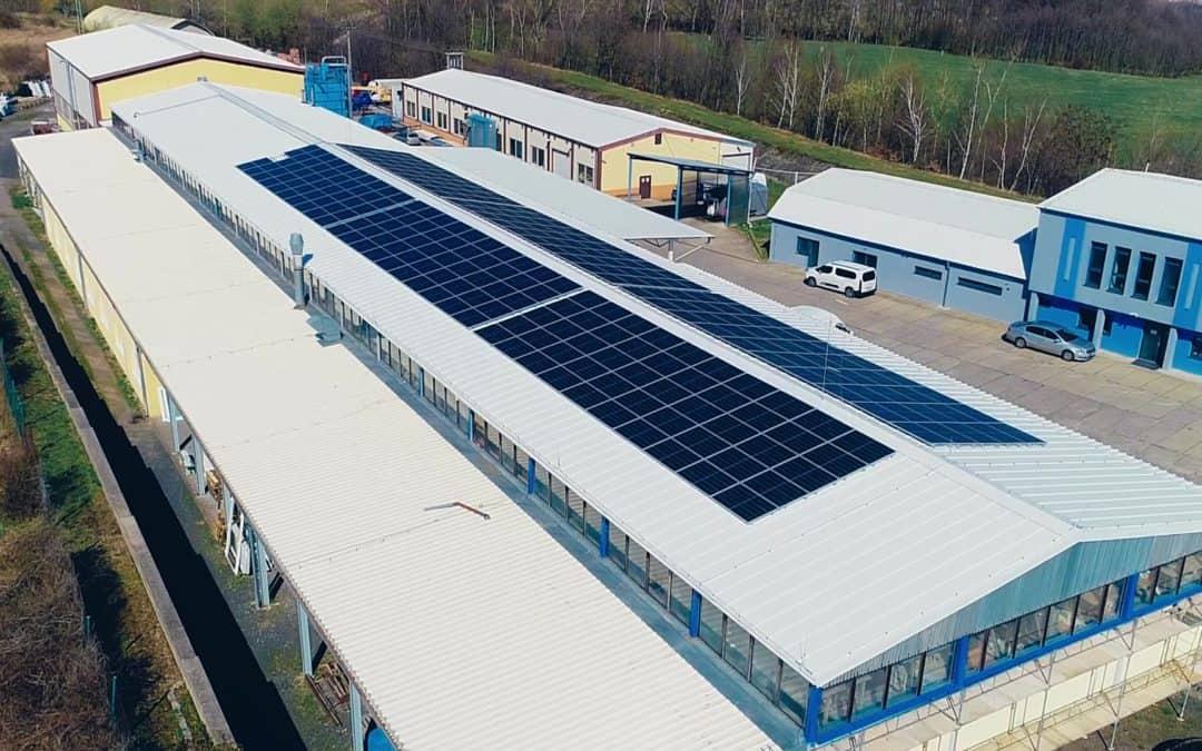 Fotovoltaická elektrárna METALL Quatro